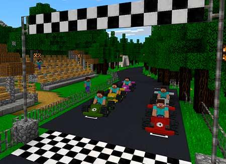 Vanilla Vehicles: Racing & Fun! mcpe 1