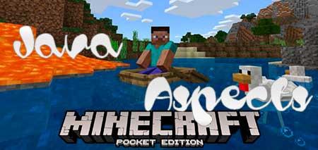 Текстуры Java Aspects для Minecraft PE