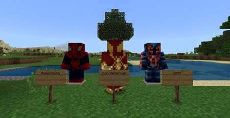 Spiderman's Webshooters mcpe 4