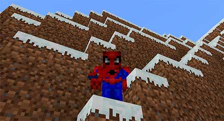 Spiderman's Webshooters mcpe 2