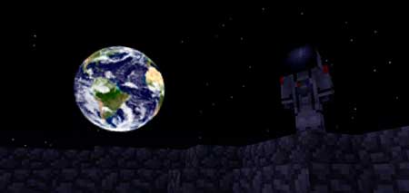 Earthrise (for Moonscape) mcpe 1