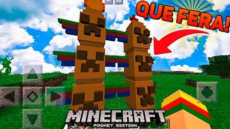 Мод Jimbo's Totem для Minecraft PE
