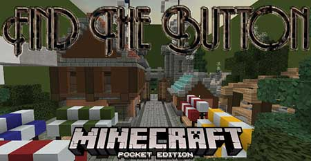 Карта Find The Button для Minecraft PE 2018