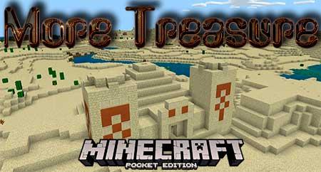 Мод More Treasure для Minecraft PE