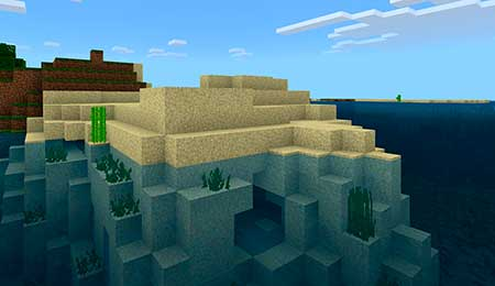 Invisible/More Transparent Water mcpe 1