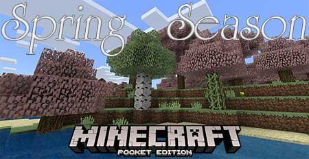 Текстуры Spring Season для Minecraft PE