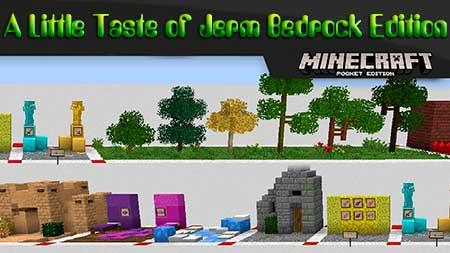 Текстуры A Little Taste of Jerm Bedrock Edition для Minecraft PE