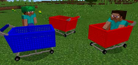 Shopping Cart mcpe 1