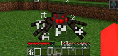 Shooting Spiders mcpe 2