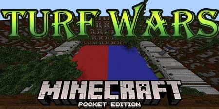 Карта Turf Wars для Minecraft PE