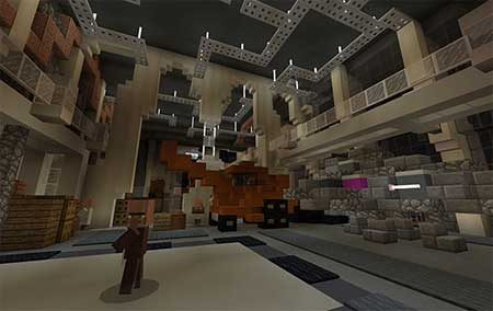 SG Space Shenanigans EP1 : S1 (Sci-Fi) mcpe 1