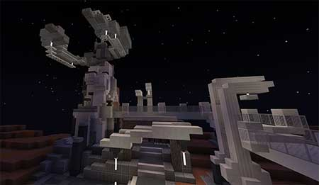 SG Space Shenanigans EP1 : S1 (Sci-Fi) mcpe 2