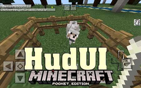 Текстуры HudUI+ для Minecraft PE