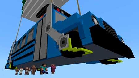 Fortnite Battle Bus mcpe 2