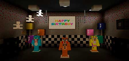 Five Nights At Freddy's 2 Re-Creation mcpe 2