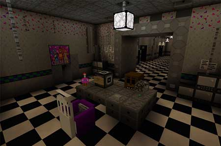 Five Nights At Freddy's 2 Re-Creation mcpe 4