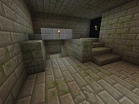 Find The Button: Stronghold Edition mcpe 3