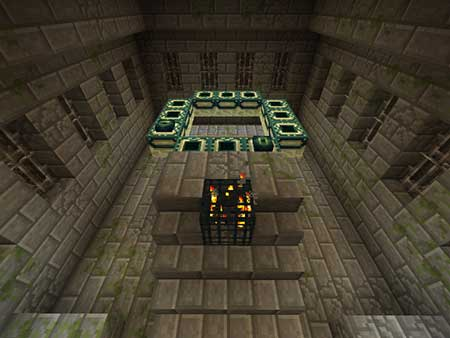 Find The Button: Stronghold Edition mcpe 1