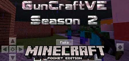 Карта GunCraftVE Season 2 для Minecraft PE