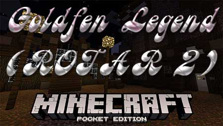 Карта Goldfen Legend (ROTAR 2) для Minecraft PE