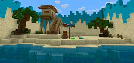 Find The Button: Aquatic Edition mcpe 2