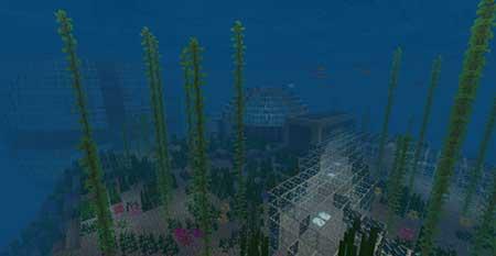 Oceanic Redstone mcpe 2