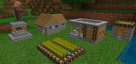 Tiny Village mcpe 1