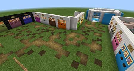 Customizable Command Block House mcpe 2