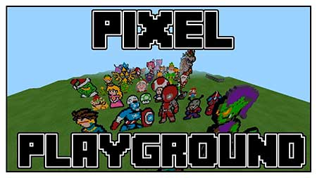 Карта Pixel Playground для Minecraft PE