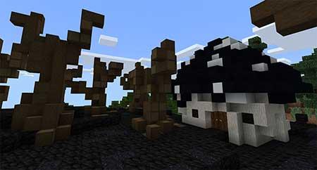 The Smurfs' Village mcpe 3