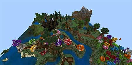 The Smurfs' Village mcpe 5
