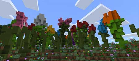 The Smurfs' Village mcpe 4