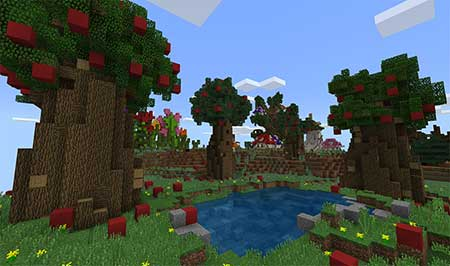 The Smurfs' Village mcpe 2