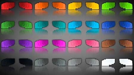 Colored Elytra mcpe 3