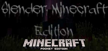 Карта Slender: Minecraft Edition для Minecraft PE