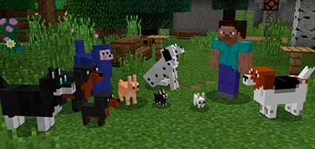 More Dogs mcpe 1