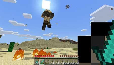 Flying Zombies mcpe 1