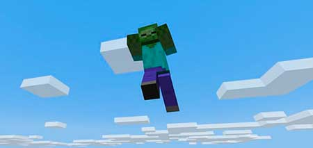 Flying Zombies mcpe 2