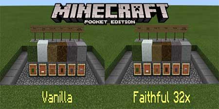Текстуры Simple Sides для Minecraft PE