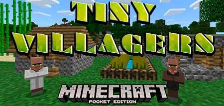 Мод Tiny Villagers для Minecraft PE