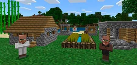 Tiny Villagers mcpe 1