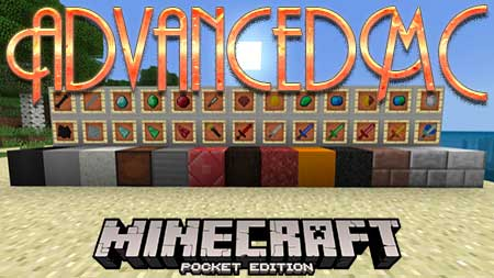 Мод AdvancedMC для Minecraft PE