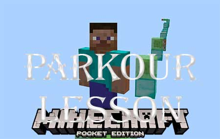 Карта Parkour Lesson для Minecraft PE