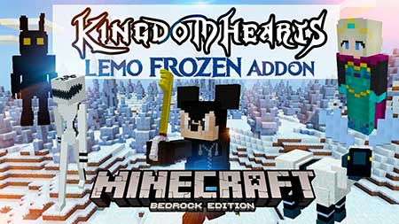 Мод Kingdom Hearts III & Frozen для Minecraft PE