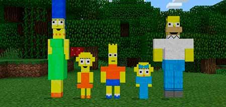 The Simpsons mcpe 1