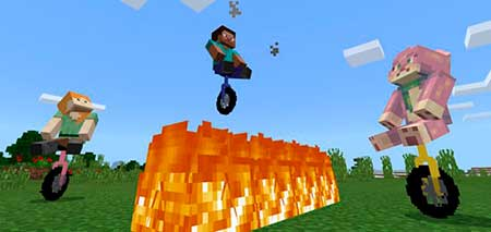 Unicycle mcpe 3