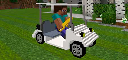 Golf Buggy mcpe 1