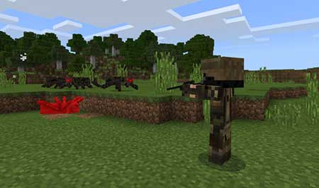 Soldiers mcpe 3