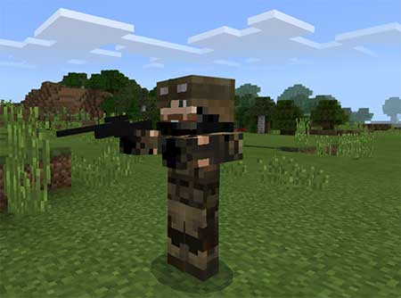 Soldiers mcpe 4