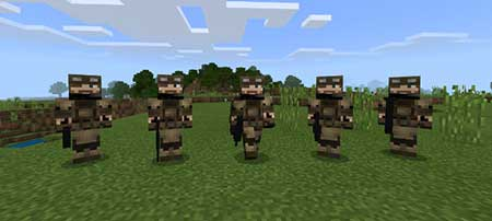 Soldiers mcpe 1